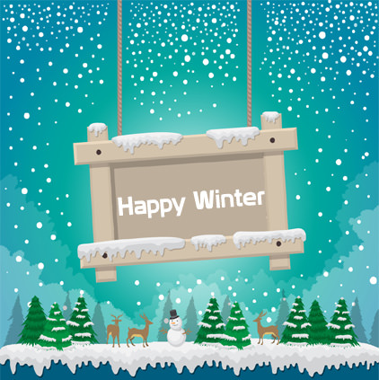 Happy Winter Image for Whatsapp