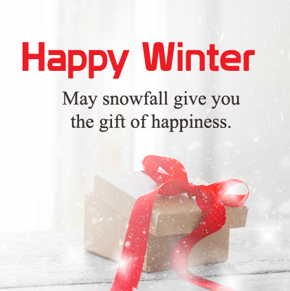 Happy Winter Wishes Image