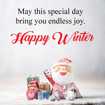 Winter DP of Santa