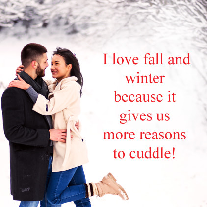 Winter Dp for Lovers