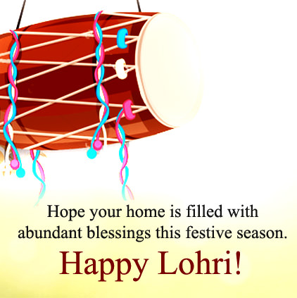 Happy Lohri Wishes DP Images