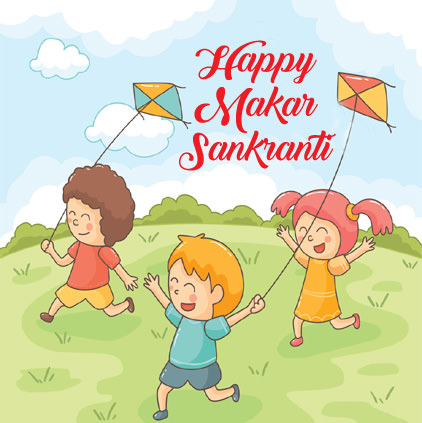 Makar Sankranti Images for Kids