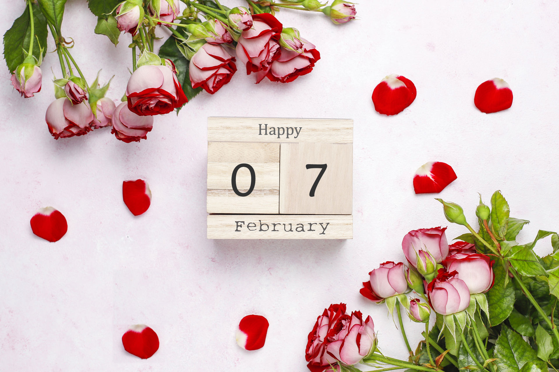 Happy 7th February Wallpaper