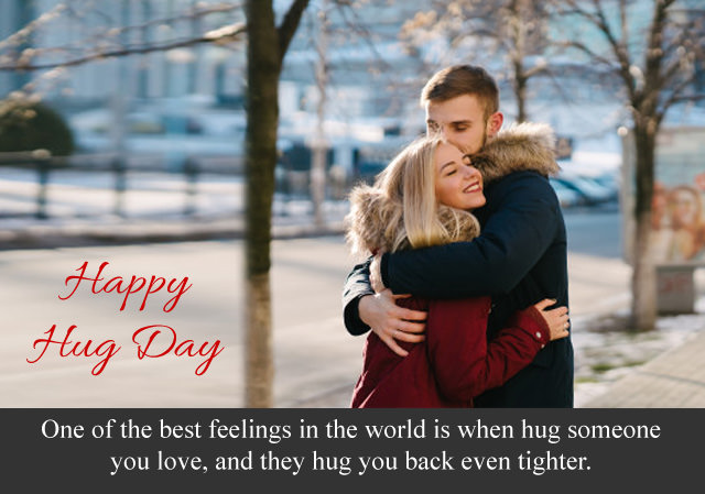 Heart Touching Hug Day Quotes Greeting