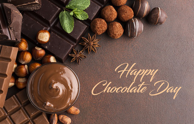 Lots of Brown Chocolates for Chocolate Day