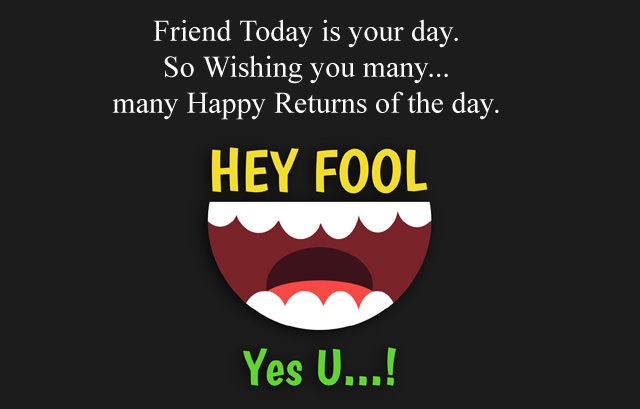 April Fool Messages for Friends