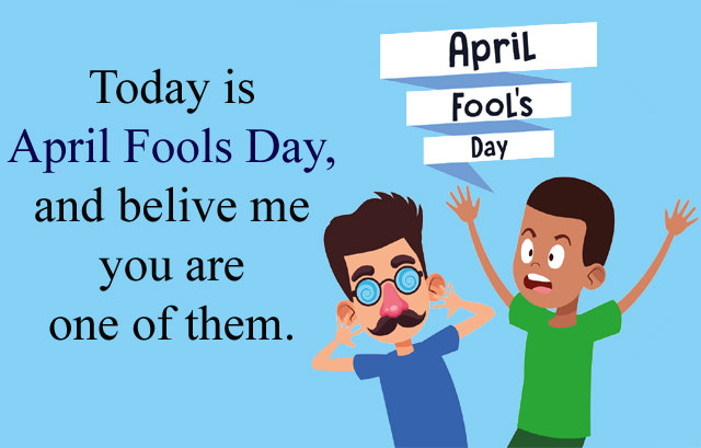 April Fools Day Wishes