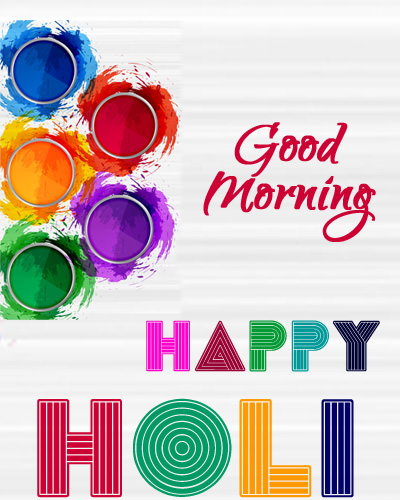 Colorful Image for Holi GM