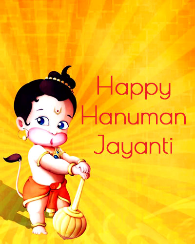 Cute Chote Hanuman Images for Hanuman Jayanti