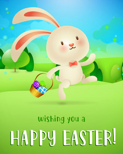 Cute Wishing you a Happy Easter Blessing