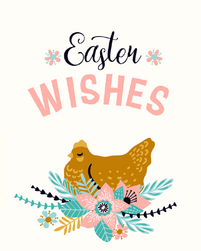 Easter Wishes Photo