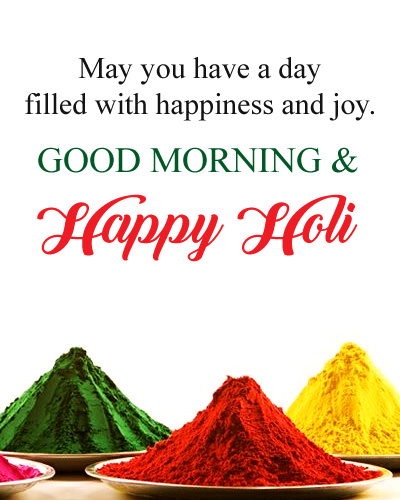 GM HOLI Quotes in English