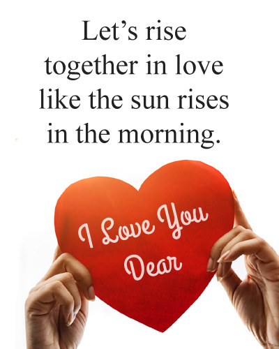 GdMrng Love Messages for Lover