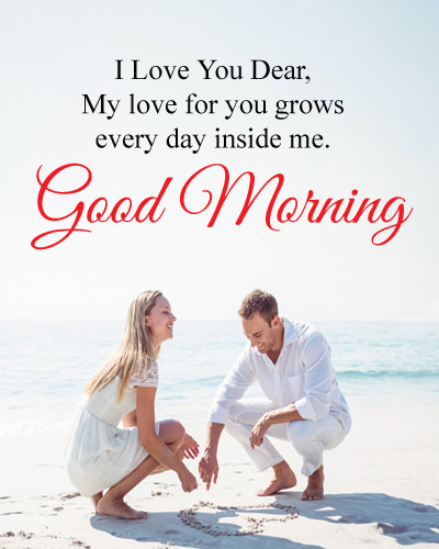 Good Morning Love Images for Couple