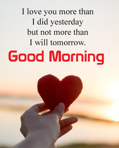 Gud Mrng Love Quotes