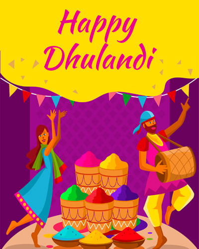 Happy Dhulandi Images for Whatsapp