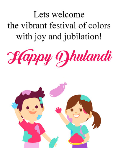 Happy Dhulandi Quotes