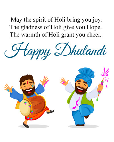 Happy Dhulandi Wishes