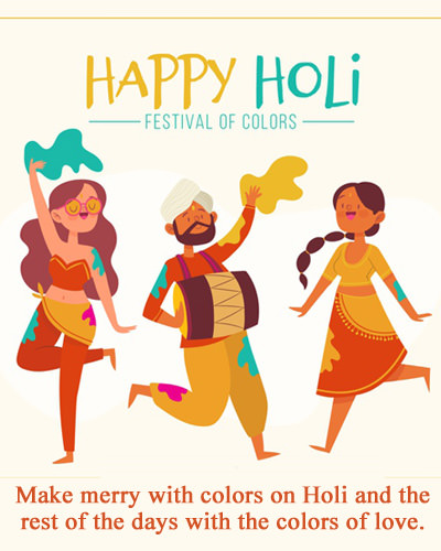 Happy Holi Colors Day Quotes