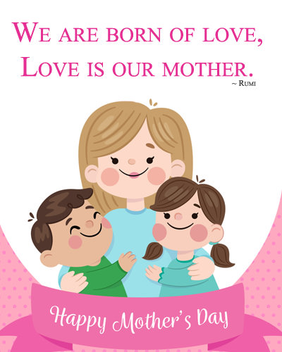 Happy Mothers Day DP for Kids