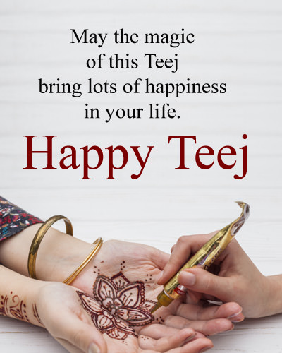 Happy Teej Quotes