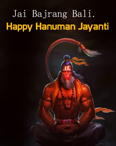 Jai Bajrangbali Powerful Look of Hanuman Ji