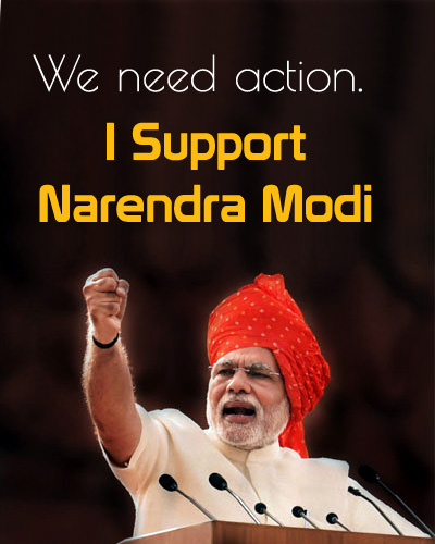 Modi Ji Support Images