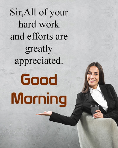Motivational Good Morning Quotes for Lady Sir