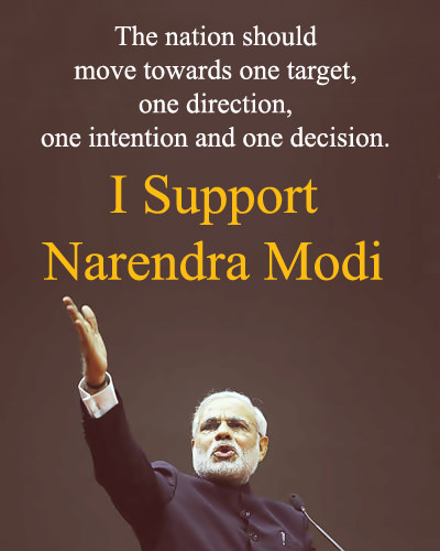 Narendra Modi Favor Images in English