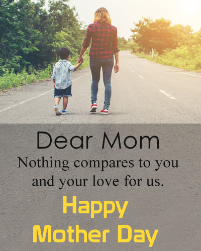 Short Quotes about Mothers Day