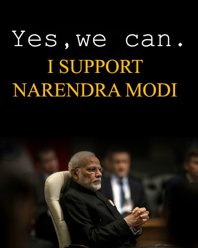 We Can Modi Support Pics