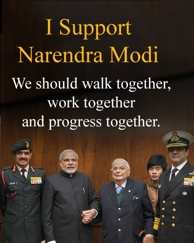 We Support Narendra Modi