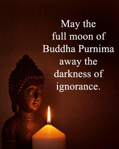 Buddha Purnima Lines in English