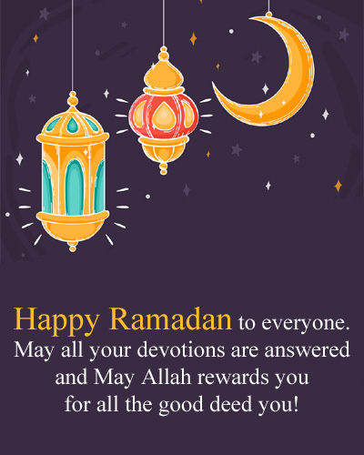 Happy Ramazan