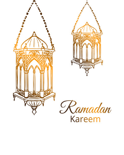 Ramadan Kareem for Muslim Friends