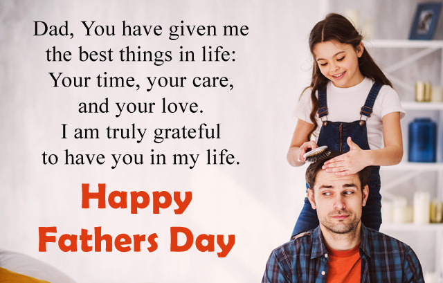 Best Life Time Care Message for Father