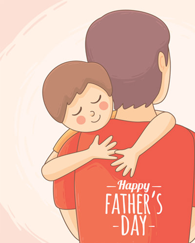Cute Fathers Day Whatsapp Images