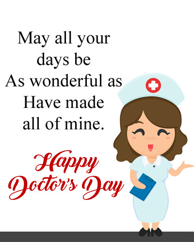 Doctors Day Wishes for Lady Doctor