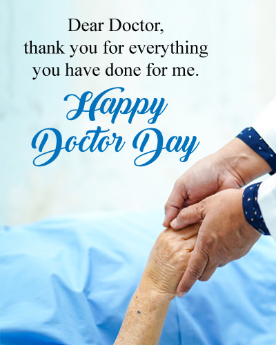 Thank You Msg for Doctors