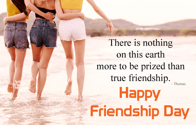 3 Beautiful Girls Images with True Friendship Quotes