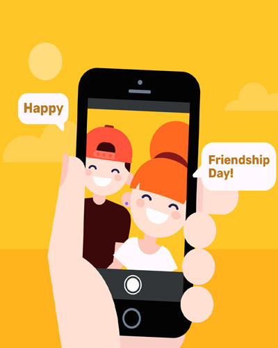 Cute Photos for Friendship Day