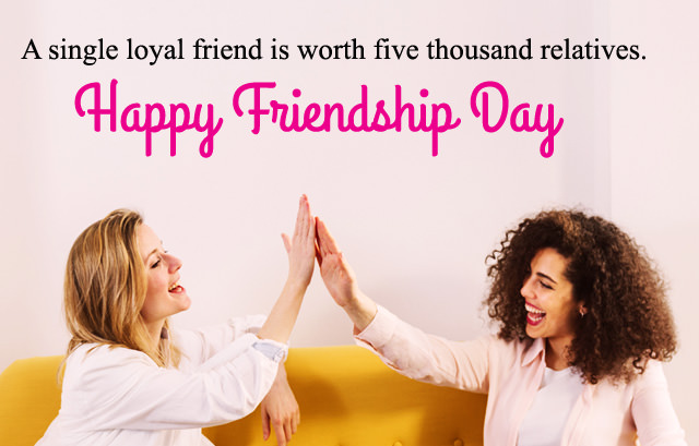Friendship Day Message for Loyal Best Friend