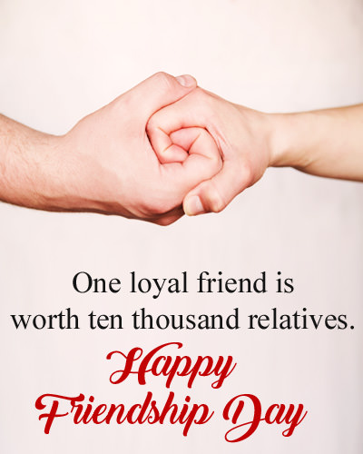 Friendship Day Msg for Loyal Friend