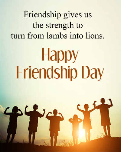 Friendship Day Quotes with Images