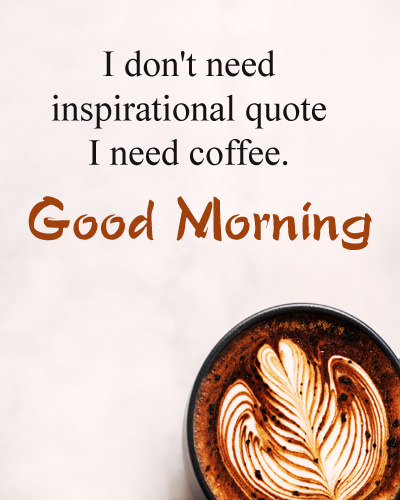 Funny Good Morning Quote