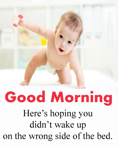 GM Cute Baby Funny Quote