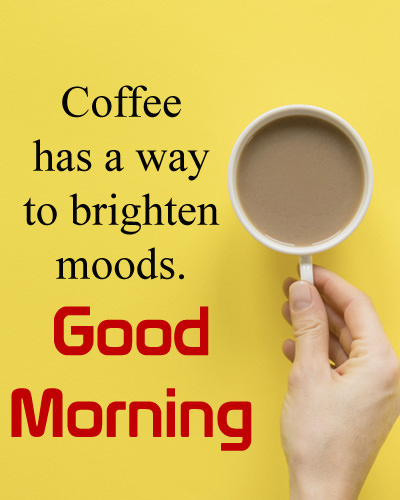 GM Image with Coffee Quote