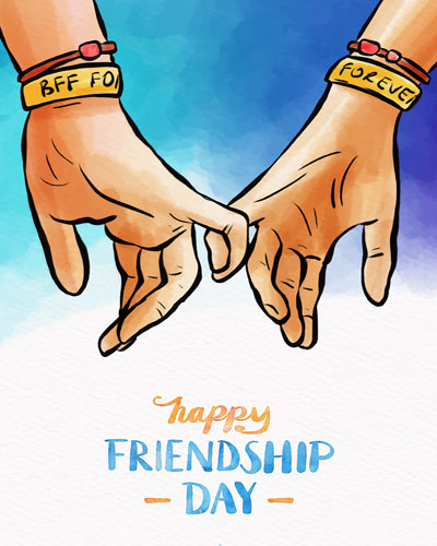 Holding Hands Friendship Day 2021 Images