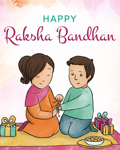 Happy Rakhi Brother Sister Images