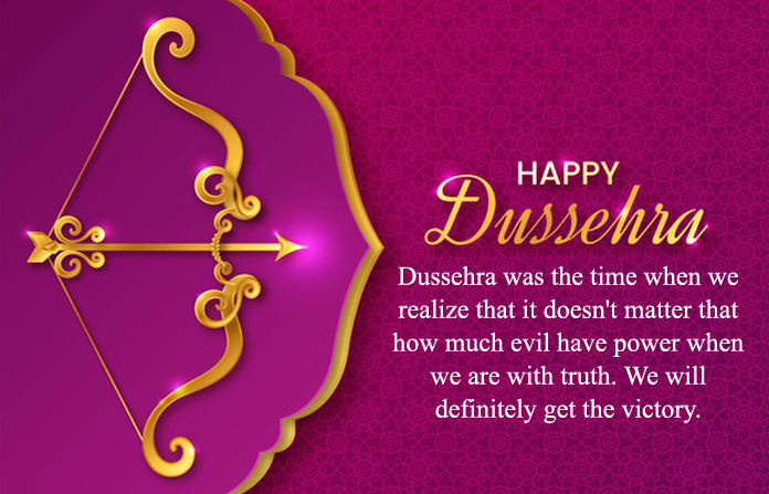 Happy Dussehra Messages in English
